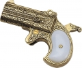 Denix Replica Double Barrelled Deringer Pistol 1262/L
