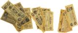 Denix Civil War Currency Sets - 99