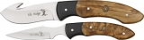 Elk Ridge Guthook Combo Set Burlwood - ER250MB