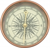 Explorer Explorer Compass. Copper Base. - EXP01