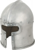 Get Dressed For Battle T Face Barbute Helmet - GB336