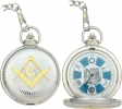 Infinity Infinity Masonic Pocket Watch. - IW45