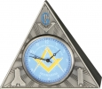 Infinity Infinity Masonic Table Clock. - IW53
