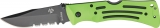 Ka-Bar Zombie Mule Lockback Part Serr - KA3059