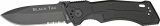 King Cutlery Black Tac Tactical Linerlock - KG8793
