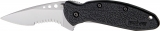 Kershaw Scallion Linerlock A/O Black - 1620ST
