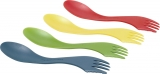 Light My Fire Spork 4 Pack Green Red Yellow Blue 36g