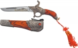 Miscellaneous Gun Knife with Scabbard - M1916