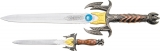 Cheap Fantasy Dagger Set - M2106