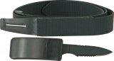 Secret Hidden Belt Knife Fits Up To 44 Inch Waist