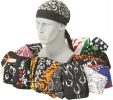 Cheap Headwrap Assortment 120 Piece - M3597