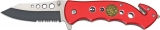 Cheap Fire/Rescue Linerlock A/O - M3647