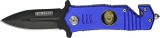 Cheap Rescue Linerlock Police A/O - M3920
