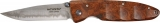 Mcusta MC-0026D Damascus Blade Quincewood Folding Knife