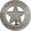 Badges Of The Old West Official Brothel Inspector - MI3005