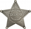 Badges of the  Old West Lincoln County Sheriff Badge - MI3006