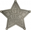 Badges of the  Old West US Deputy Marshal Badge - MI3009