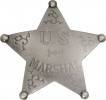 Badges Of The Old West US Marshal Badge - MI3016