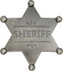 Badges of the  Old West Sheriff Badge - MI3018