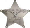 Badges of the  Old West Special Ranger Badge - MI3025