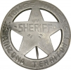 Badges of the  Old West Tombstone Arizona Terr Sheriff - MI3029