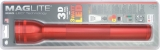 Maglite 3D Cell LED Flashlight Red - ML51082