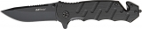 MTech Skeleton Linerlock Black - MT424BK