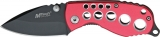 Mtech Red Skeleton Linerlock Red - MT425RD