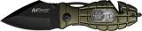 Mtech Grenade Rescue Linerlock - MT505RG