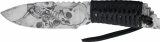 MTech Skull Fixed Blade - MT610GY
