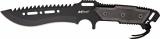 Mtech Combat Knife Black - MT621BK