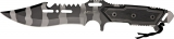 Mtech Combat Knife Urban Camo - MT622UC