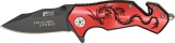 Mtech Dragon Strike Rescue Linerlock - MTX8058RB