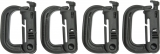 Maxpedition Grimloc Locking D-Ring 4pk - MXGRMLB