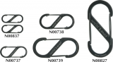 Nite Ize S-Biner No1 Black - N00837