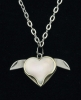Novelty Cutlery Heart Necklace - NV223