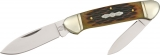 Rough Ryder Canoe Amber Jigged Bone - RR048