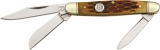 Rough Ryder Small Stockman Amber Bone - RR194