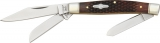 Rough Rider Gunstock Bone Stockman - RR670