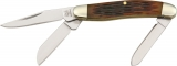 Rough Ryder Tiny Stockman Amber Bone - RR814