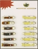 Rough Rider Twelve Piece Pocket Knife Set - RRSET1
