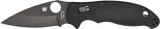 Spyderco Manix 2 Plain Edge C101GPBBK2 3 3/8 Blade