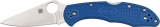 Spyderco Delica flat ground knife (model SC11FPBL