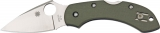 Spyderco Dragonfly C28GPFG Knife G10 Foliage Green