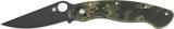 The Spyderco Military knife SC36GPCMOBK
