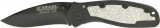 Imperial Schrade Black Ice Folder - SCHBLING