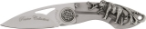 Imperial Schrade Pewter Folder Buffalo - SCHWSBUF