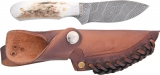 Silver Stag Twist Damascus Steel Knife DST27