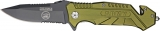 Tac Force Military Rescue Linerlock Army - TF501AR