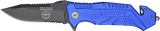 Tac Force Military Rescue Linerlock Navy - TF501NY